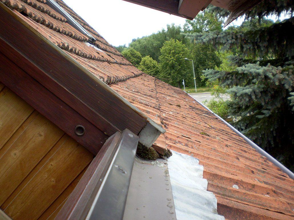 Hausverwaltung Dachsanierung Weil-der-Stadt alt